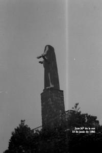 Corazon de Jesus decapitado por un rayo. 1986